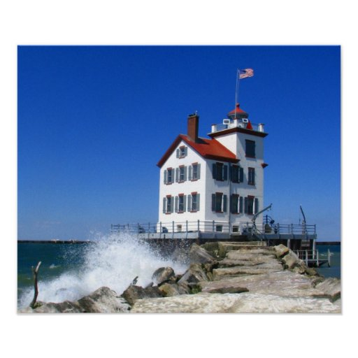 Lorain lighthouse print