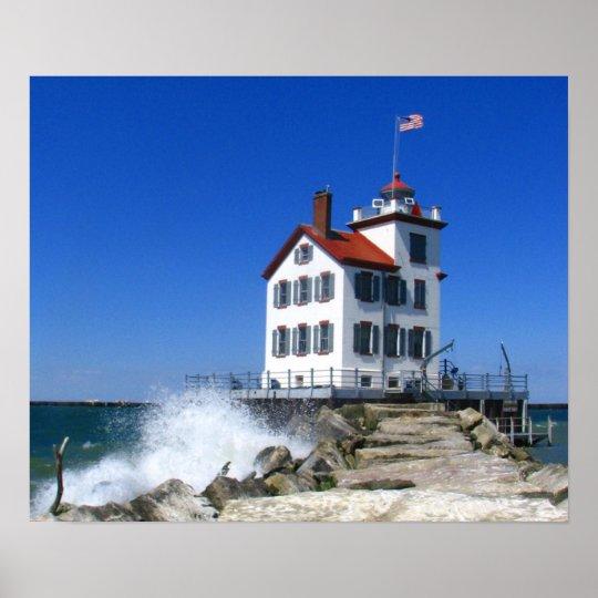 Lorain lighthouse print
