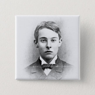 Lord Alfred Douglas 2 Inch Square Button