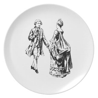 Lord and Lady Party Plate