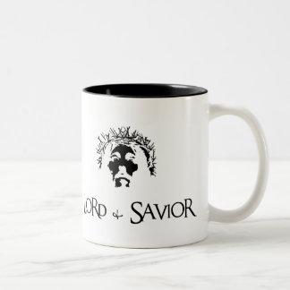 Lord and Savior Two-Tone Mug