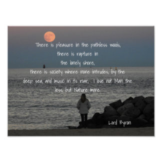 Lord Byron - Quote - Art Print
