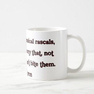 Lord Byron Quote Coffee Mug