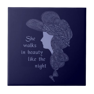 Lord Byron s Lady Tile