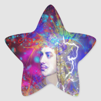 Lord Byron Star Sticker
