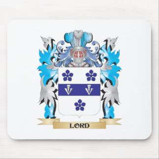Lord Coat of Arms - Family Crest Mouse Pads