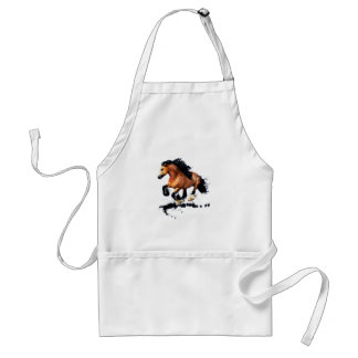 Lord Creedence Gypsy Vanner Horse Standard Apron