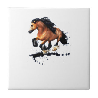 Lord Creedence Gypsy Vanner Horse Tile