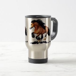 Lord Creedence Gypsy Vanner Horse Travel Mug