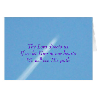 Lord Directs Us Card