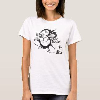 Lord Ganesh and Kroncha T-Shirt