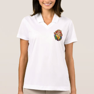 Lord Ganesh, Hindu God of Prosperity and Happiness Polo Shirt