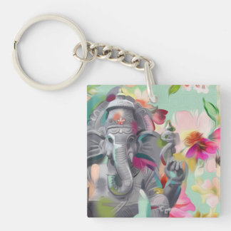Lord Ganesh | Remover of obstacles | art keychain