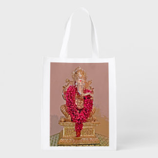Lord Ganesh Reusable Grocery Bag