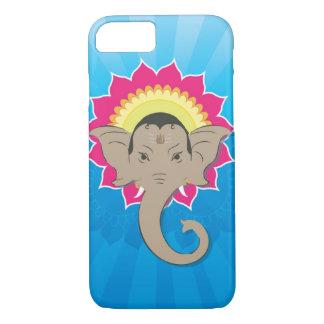 Lord Ganesha Digital Illustration with Mandala Art Case-Mate iPhone Case