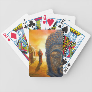 Lord Gautama Buddha Bicycle Playing Cards