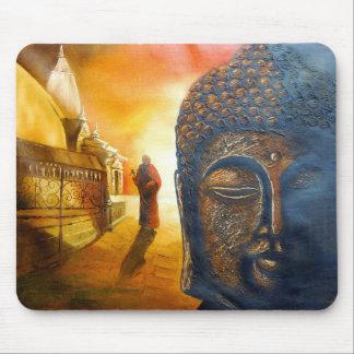 Lord Gautama Buddha Mouse Pad