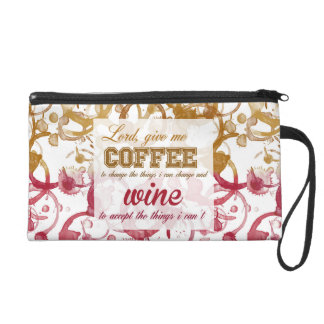 Lord Give me Coffee Wristlet