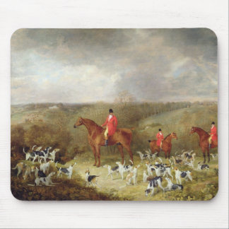 Lord Glamis and his Staghounds, 1823 (oil on canva Mouse Pad