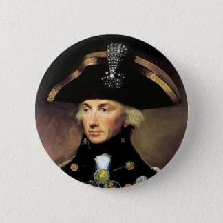 Lord Horatio Nelson 2 Inch Round Button