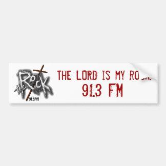 Lord is my Rock Bumper Sticker