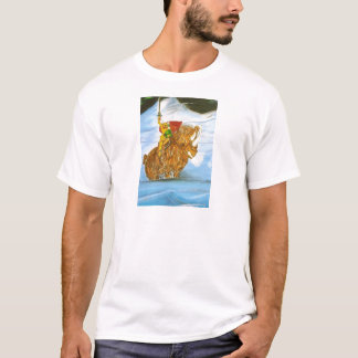 Lord Jamie Thorn Amber riding Bruno T-Shirt