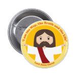Lord Jesus Christ Pin