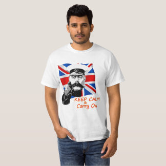 Lord Kitchener Keep Calm & Carry On T-Shirt
