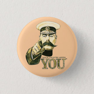 Lord Kitchener 'You' 1 Inch Round Button