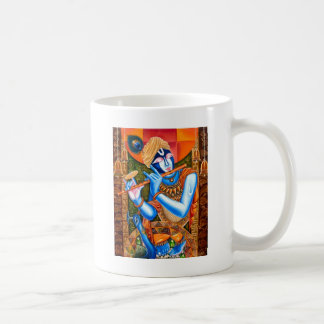 LORD KRISHNA INDIAN ABSTRACT COFFEE MUG