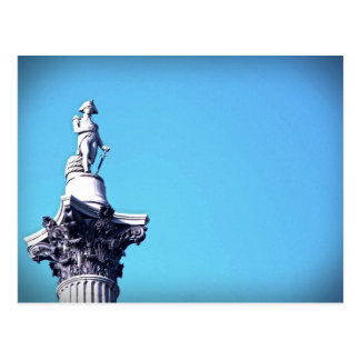Lord Nelson Just Hanging Out - London - Postcard