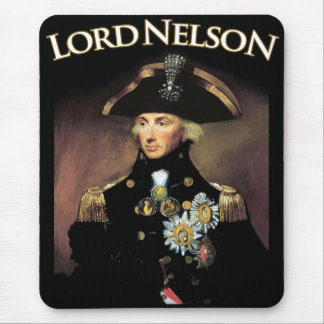 Lord Nelson Mouse Pad