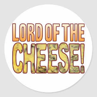Lord Of Blue Cheese Round Sticker