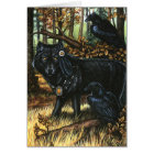 Lord of Ravens Greeting Card