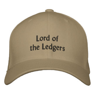 Lord of the Ledgers - CFO Nickname Embroidered Hat