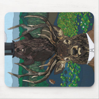 Lord of the manor mouse pad