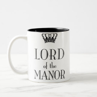 Lord of the Manor mug