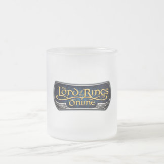 LORD OF THE RINGS ONLINE (TM) Frosted Glass Mug