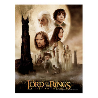 Lord of the Rings: The Two Towers Movie Poster Postcard