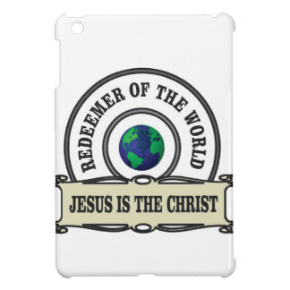 lord redeemer of the world iPad mini cover