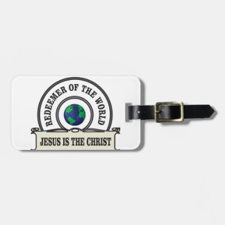 lord redeemer of the world luggage tag