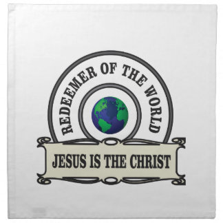 lord redeemer of the world napkin