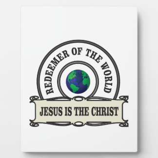 lord redeemer of the world plaque