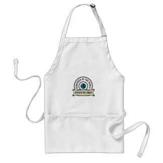 lord redeemer of the world standard apron
