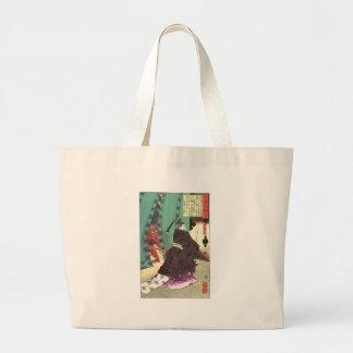 Lord Sadanobu Large Tote Bag