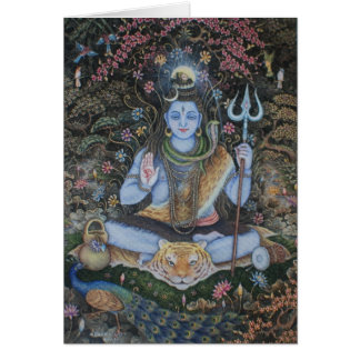 Lord Shiva Card