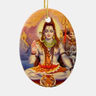 Lord Shiva Meditating Ornament