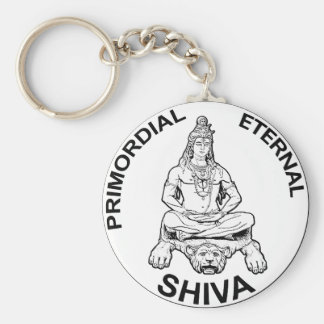Lord Shiva primordial eternal, Indian God Keychain