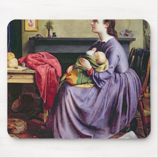 Lord, Thy Will Be Done, 1855 (oil on canvas) Mousepads