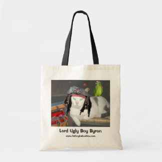 LORD UGLY BOY BYRON TOTE BAG
